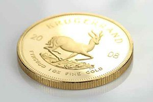 Krügerrand Goldmünze mit Stempelglanz
