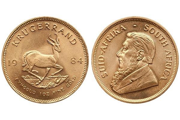 Robuste Krügerrand Goldmünzen mit Kupferanteil